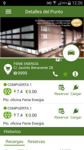 app fenie recarga